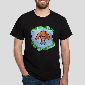 Bitter Litter Dog Dark T-Shirt