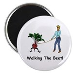"Walking the Beet! 2.25"" Magnet (10 pack)"