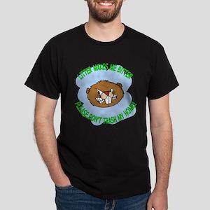 bitter Litter beaver Dark T-Shirt