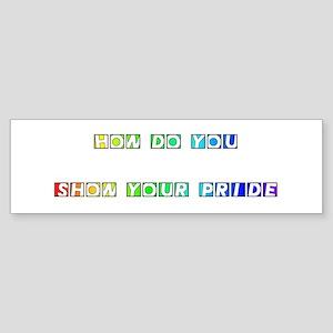 Howdo you #2 Bumper Sticker