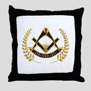 AF&AM Past Master Throw Pillow