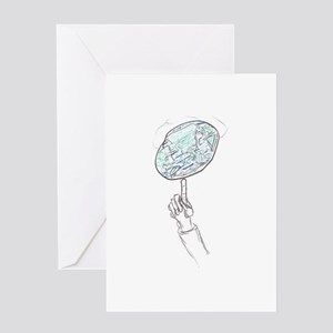 Spin Earth Greeting Card