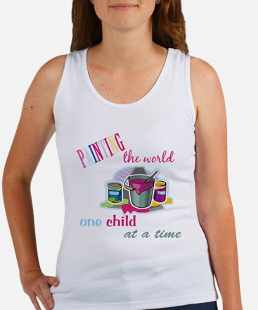 Painting The World... Women's Tank Top