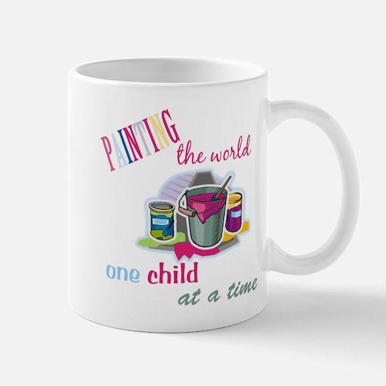 Painting The World... Mug