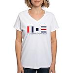 Thunderbird Sailing Club Women's V-Neck T-Shirt
