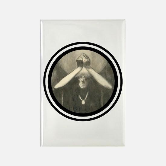 Dark Mage Rectangle Magnet