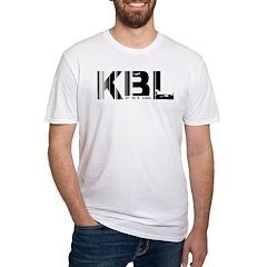 Kabul Airport Code Afghanistan KBL Shirt