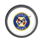 Cotati Police Wall Clock