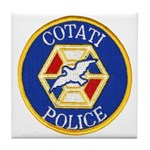 Cotati Police Tile Coaster
