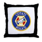 Cotati Police Throw Pillow