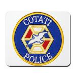 Cotati Police Mousepad