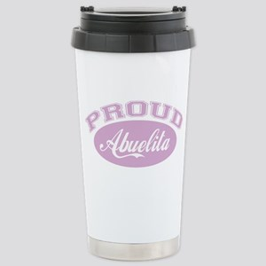 Proud Abuelita Stainless Steel Travel Mug