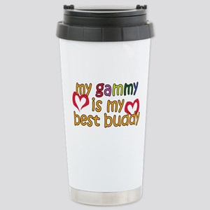 Gammy is My Best Buddy Stainless Steel Travel Mug