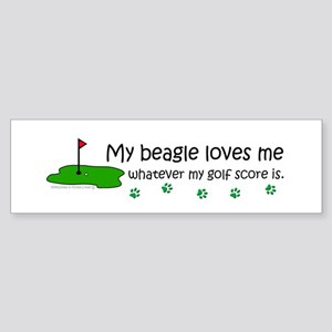 beagle Bumper Sticker