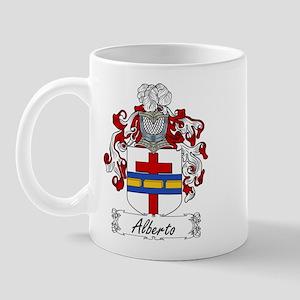 Alberto Family Crest Mug