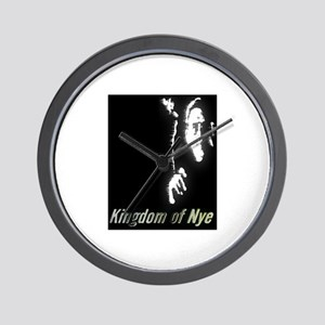 Kingdom of Nye Wall Clock