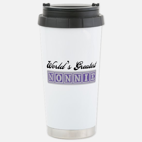 World's Greatest Nonnie Stainless Steel Travel Mug