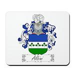 Albini Family Crest Mousepad