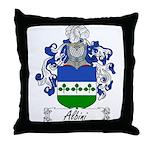 Albini Family Crest Throw Pillow