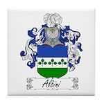 Albini Family Crest Tile Coaster