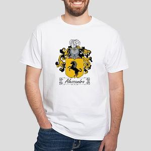 Alessandro Family Crest White T-Shirt