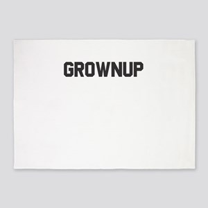 Grownup Gift for Adulting People 5'x7'Area Rug