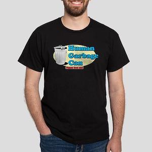 Human Garbage Can Dark T-Shirt