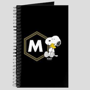 Snoopy Woodstock Monogrammed Journal