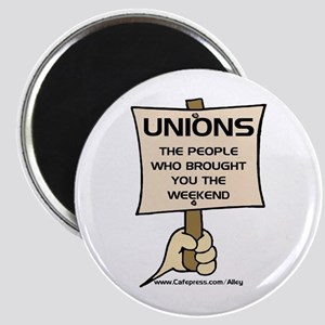 Union Weekends Magnet