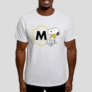 Snoopy Woodstock Monogrammed Light T-Shirt