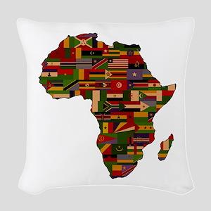 AFRICA Woven Throw Pillow