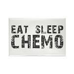 Eat Sleep Chemo Rectangle Magnet (100 pack)