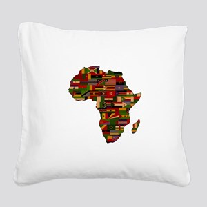 AFRICA Square Canvas Pillow