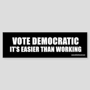 Vote Democratic Bumper Sticker