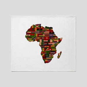 AFRICA Throw Blanket