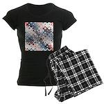 Abstract Pastel Shapes Pattern Pajamas