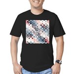 Abstract Pastel Shapes Pattern T-Shirt