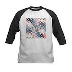 Abstract Pastel Shapes Pattern Baseball Jersey