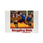 Grappling Rectangle Magnet (10 pack)