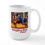 Grappling Large Mug