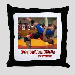 Grappling Throw Pillow