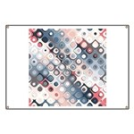 Abstract Pastel Shapes Pattern Banner