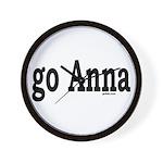 go Anna Wall Clock