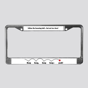 Music License Plate Frame License Plate Frame