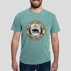 uss la moure county patch transparen T-Shirt