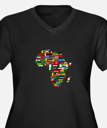 AFRICA Plus Size T-Shirt
