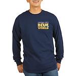 Jonathan Bird's Blue World Long Sleeve Dark T-Shir
