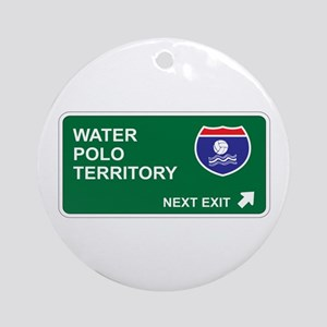Water, Polo Territory Ornament (Round)