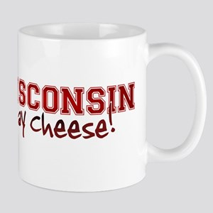 Wisconsin Say Cheese Mug