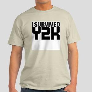 I survived Y2K Light T-Shirt